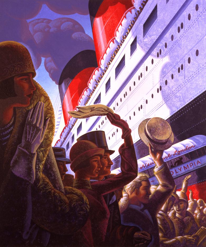 Bon Voyage illustration by Bryan Haynes
