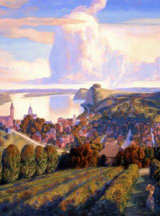 Hermann - East View by Bryan Haynes