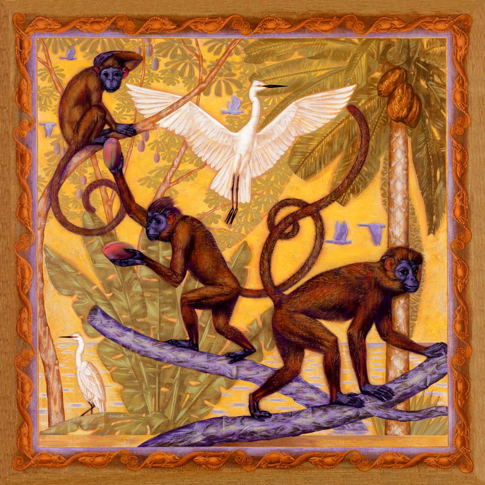 Monkeys illustration by Bryan Haynes