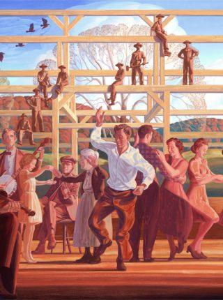 Barn Dance, 8/9/12, 12:53 PM,  8C, 6178x9458 (976+210), 125%, mahoney,   1/8 s, R84.4, G68.1, B90.2